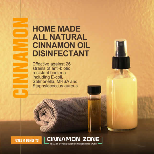 Cinnamon Oil Disinfectant